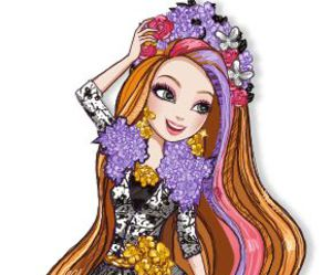 holly, tangled, and ever after high image