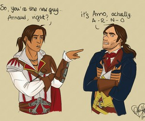 ac, assassin's creed, and arno dorian image