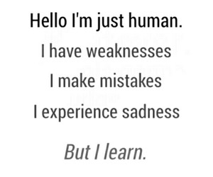 human, mistakes, and quotes image