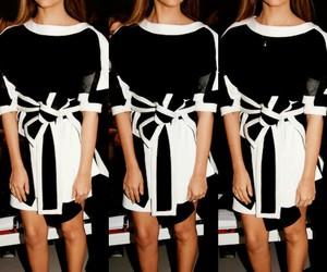 black&white, dress, and jade thirlwall image