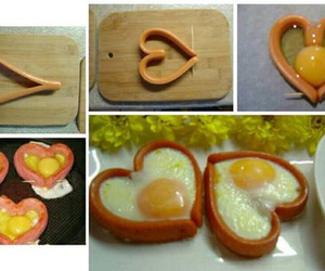 food, diy, and heart image
