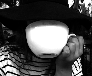 coffee, black and white, and fashion image