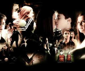 couple, ginny weasley, and harry potter image