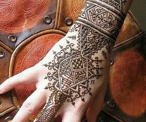 henna, tattoo, and art image