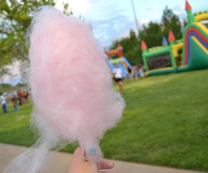 cotton candy, pink, and sweet image
