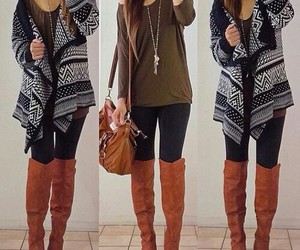 bag, i love it!, and boots image