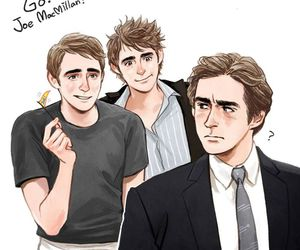 aaron, lee pace, and ned image