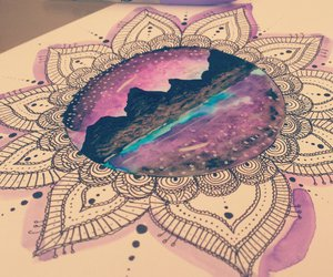 drawing, henna, and linework image