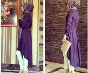 fashion, outfit, and muslima image