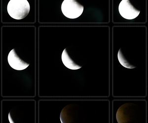 eclipse, moon, and night image