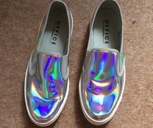holographic, shoes, and holographic shoes image