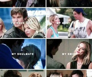 caleb, pll, and haleb image