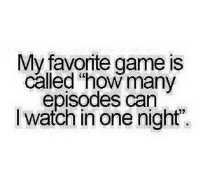 episode, game, and night image