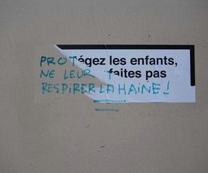 enfants, francais, and wall image