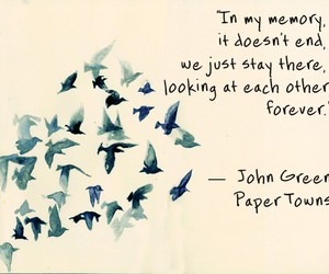 john green, paper towns, and quote image