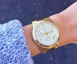 clothes, watch, and girly image