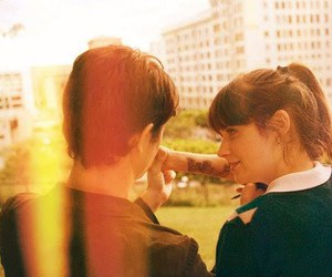 500 Days of Summer, zooey deschanel, and couple image