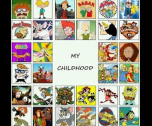 cartoons, childhood, and lovely image