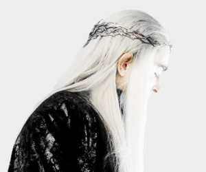 thranduil, elf, and lord of the rings image