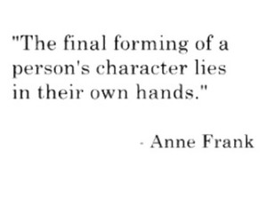 anne frank, final, and quotes image