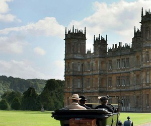 1920's, season 5, and downton abbey image