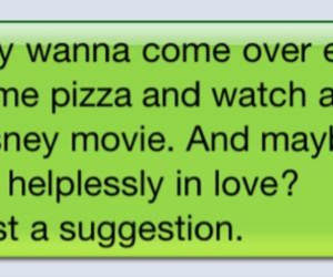 love, text, and disney image