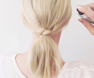 hair, updo, and lob image