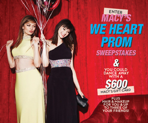 macy's, sweepstakes, and macy's prom image