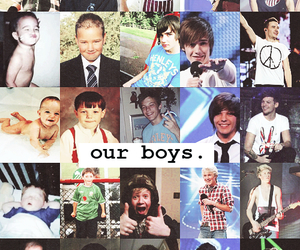 babys, one direction, and ours image