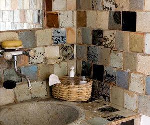 bathroom, color, and decor image