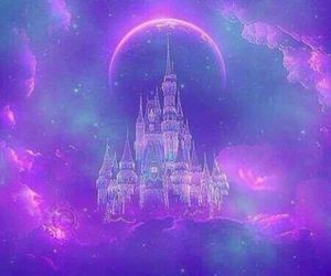 purple, castle, and background image