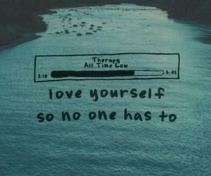 all time low, music, and ocean image
