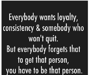 loyalty and consistency image