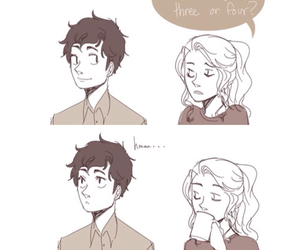 funny, hoo, and percabeth image