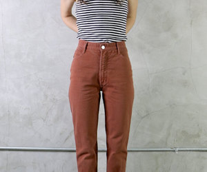 jeans, tight jeans, and high waisted jeans image