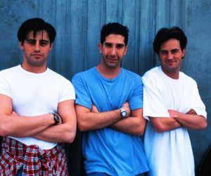 friends, ross, and Joey image