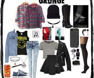 fashion, grunge, and inspo image