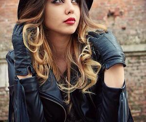 eyeliner, fashion, and girl image