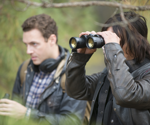 daryl dixon, aaron, and the walking dead image