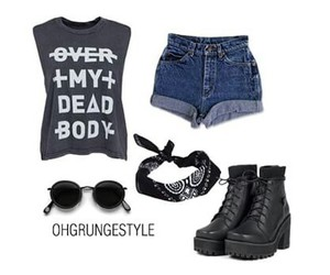 clothes, clothing, and grunge image