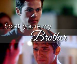 teen wolf, brothers, and scott image