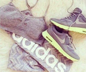 adidas, nike, and fitness image