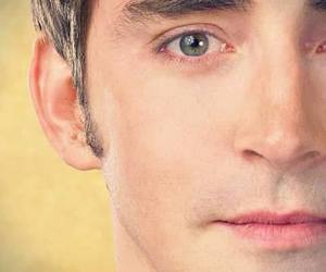 lee pace, eyebrows, and pushing daisies image