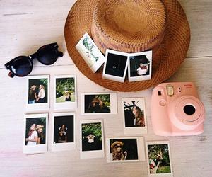 polaroid and summer image
