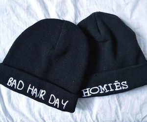 hat, homies, and black image