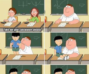 funny, math, and family guy image