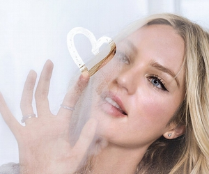 candice swanepoel, model, and heart image