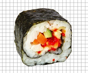 pale and sushi image