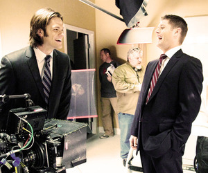 dean winchester, Jensen Ackles, and funny image