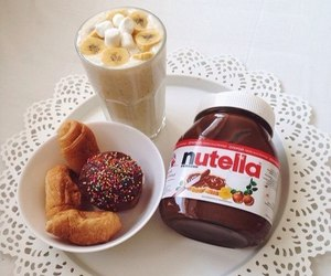 nutella, food, and sweet image